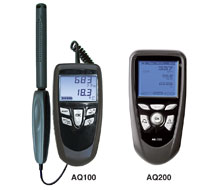 Environmental IAQ Meters AQ100, AQ200 Series